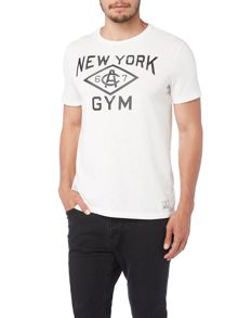 Polo Ralph Lauren Custom Fit New York Gym Logo T-Shirt