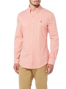 Polo Ralph Lauren Slim Fit Gingham Twill Shirt
