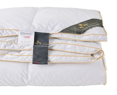 Quilts of Denmark Canadian White Goose Down 10.5 tog Double Duvet
