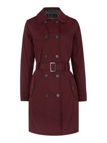Barbour Mill fire trench coat