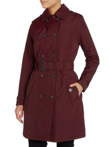 Mill fire trench coat