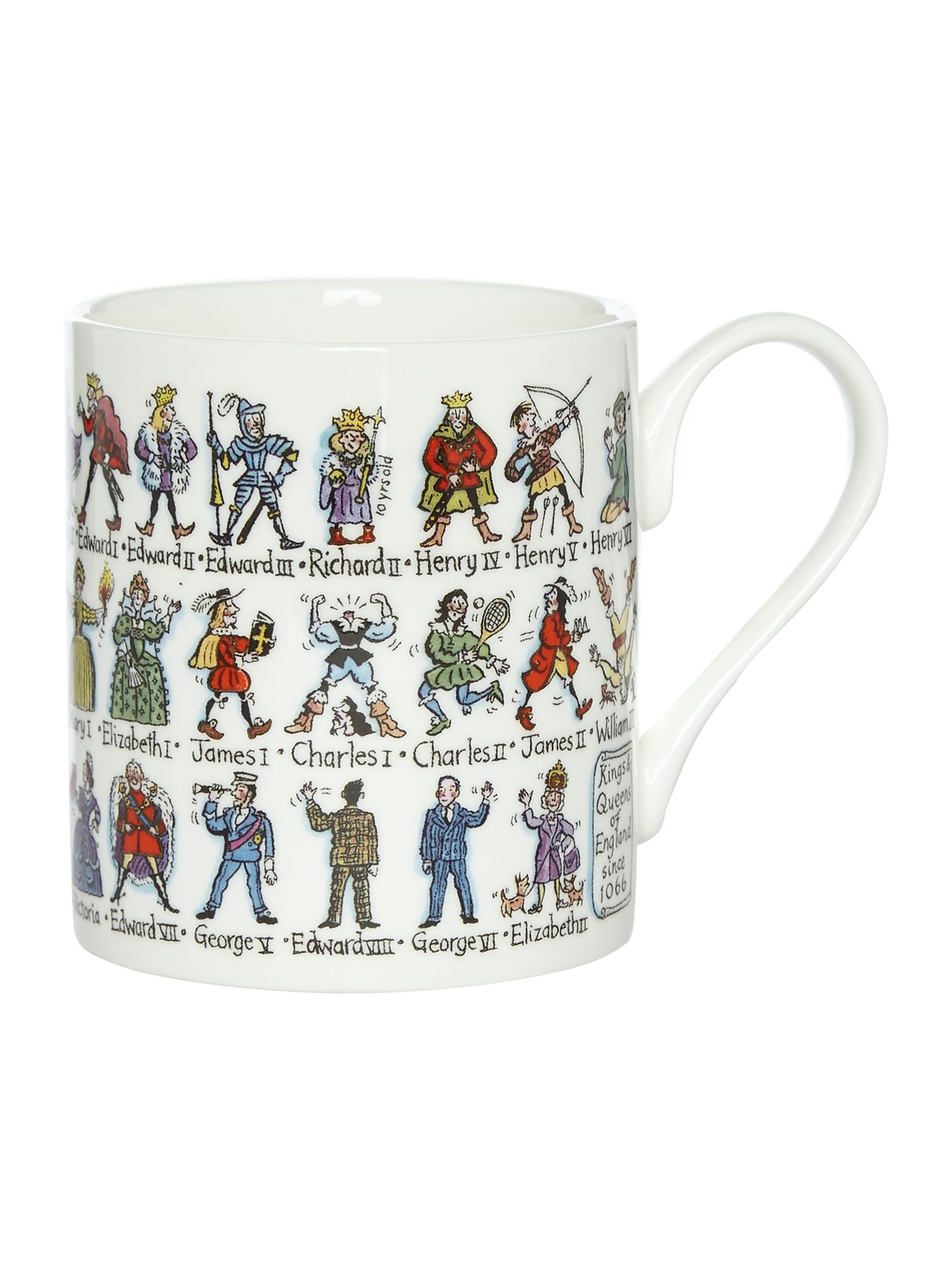 Image of Picture Maps Kings & Queens Mug
