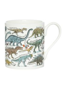 Picture Maps Dinosaurs Mug