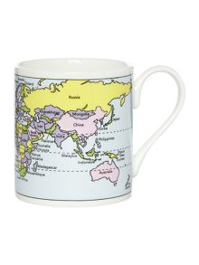 McLaggan Map of the world Mug