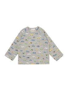 Benetton Baby Boys All Over Print Car Tshirt
