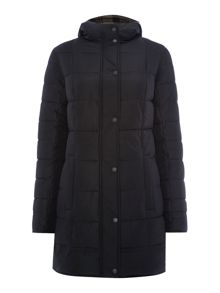 Carlin down filled reversible quilted coat
