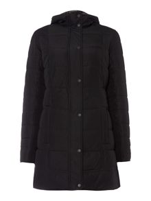 Barbour Carlin down filled reversible quilted coat