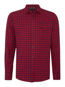 Army & Navy Tawny Check Long Sleeve Shirt