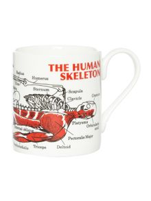 McLaggan The Human skeleton Mug