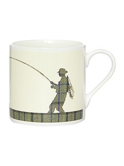 Man Fishing Mug