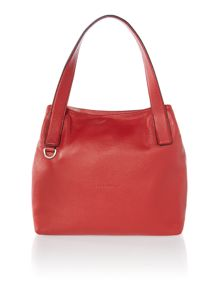 Mila red tote bag