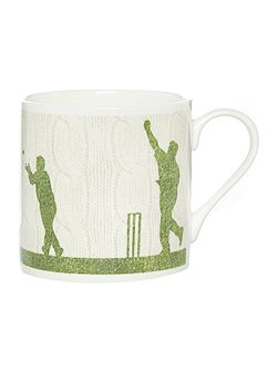 Man Playing Cricket Mug