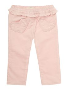 Benetton Baby Girls Bunny Cord Trousers