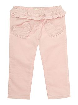 Baby Girls Bunny Cord Trousers