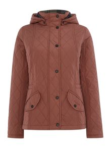 Millfire diamond quited coat