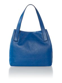 Mila blue tote bag