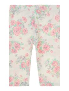 Benetton Baby Girls Floral Legging