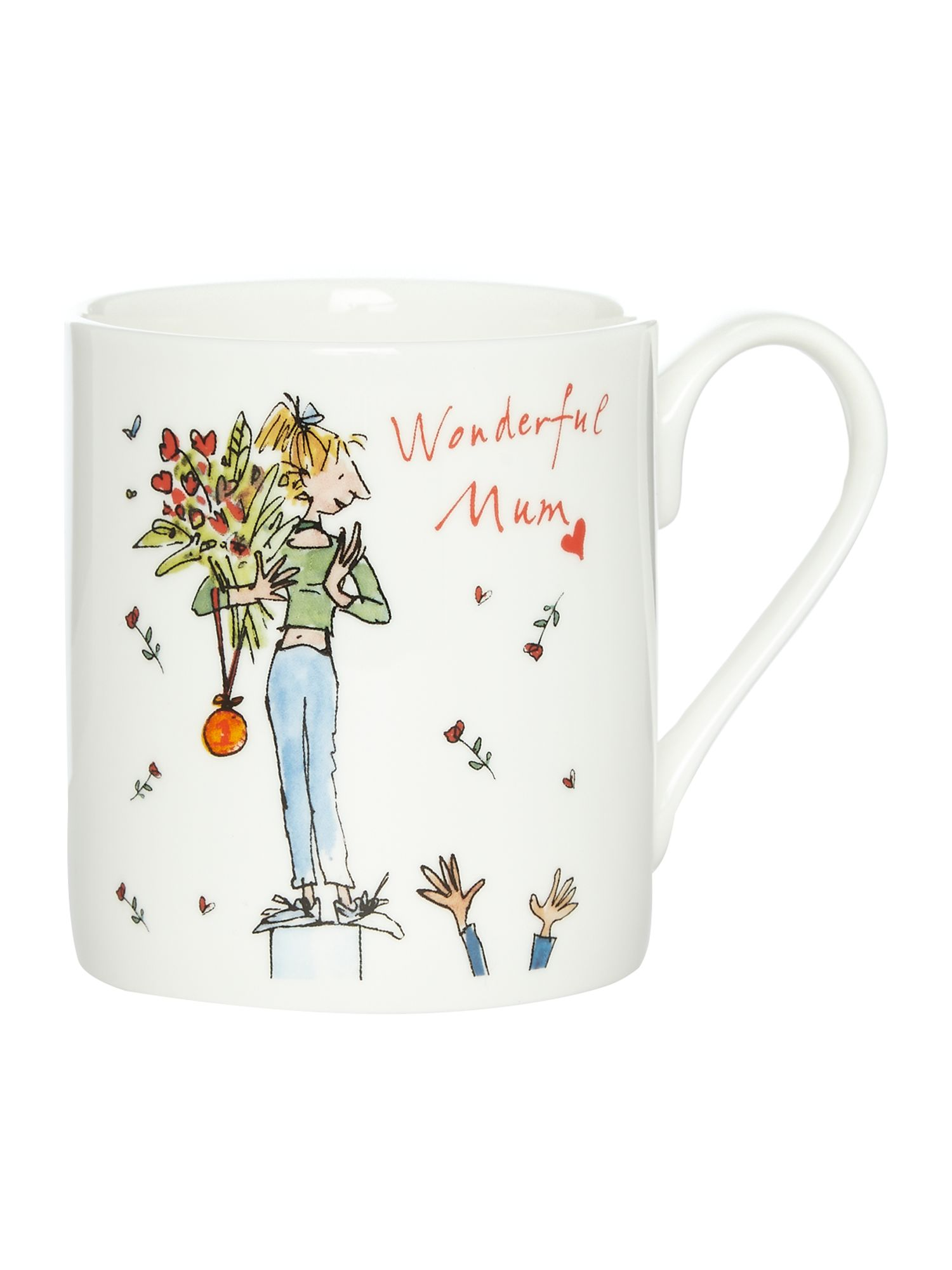 Image of Quentin Blake Wonderful Mum Mug