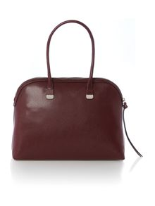 Maya burgundy dome bag