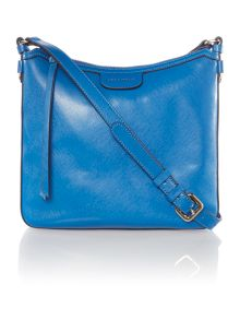 Maya blue cross body bag