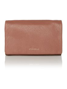 Sibilla pink clutch bag