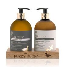 The Fuzzy Duck Two Bottle Hand Set