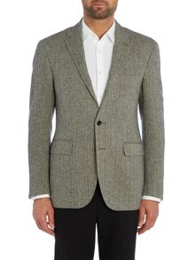 Polo1 Sllim Fit Herringbone Blazer