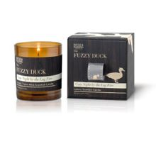 The Fuzzy Duck Cosy Night By The Log Fire Candle