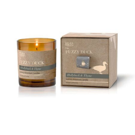 Baylis & Harding The Fuzzy Duck Mulberry, Hollyhock & Thyme Candle