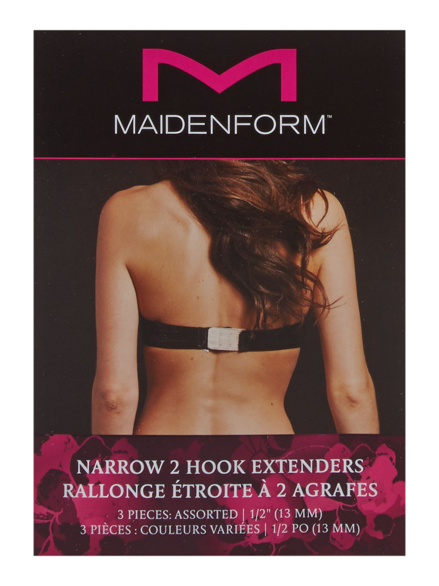 Maidenform Accessories Maidenform Accessories 2 Hook bra extender, Multi-Coloured