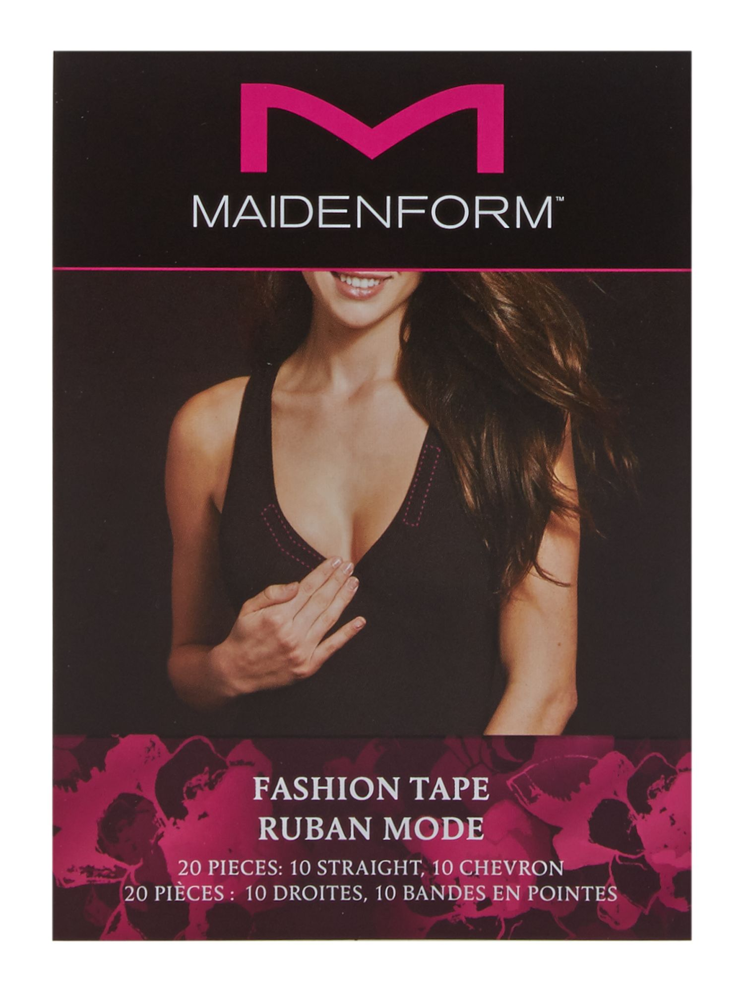 Maidenform Accessories Maidenform Accessories 20 Strip fashion tape, Clear