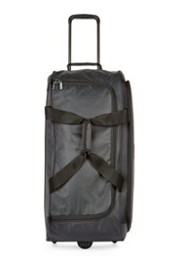 Helix casual charcoal large trolley bag