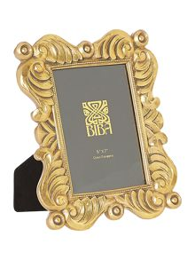 Biba Jasmine gold photo frame 5x7