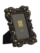 Biba Jasmine black photo frame 4x6