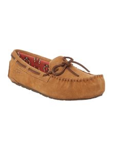Kids Ryder Jungle Moccasin Slipper