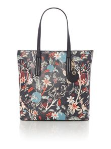Leonie multi coloured tote bag