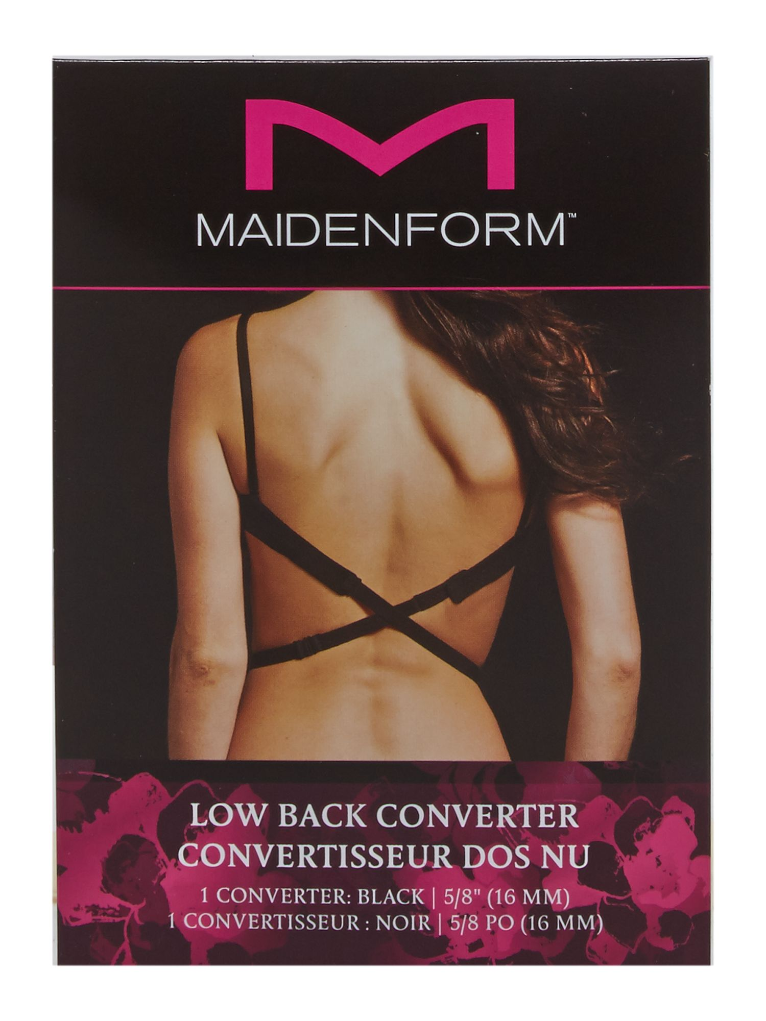 Maidenform Accessories Maidenform Accessories Low back converter, Black