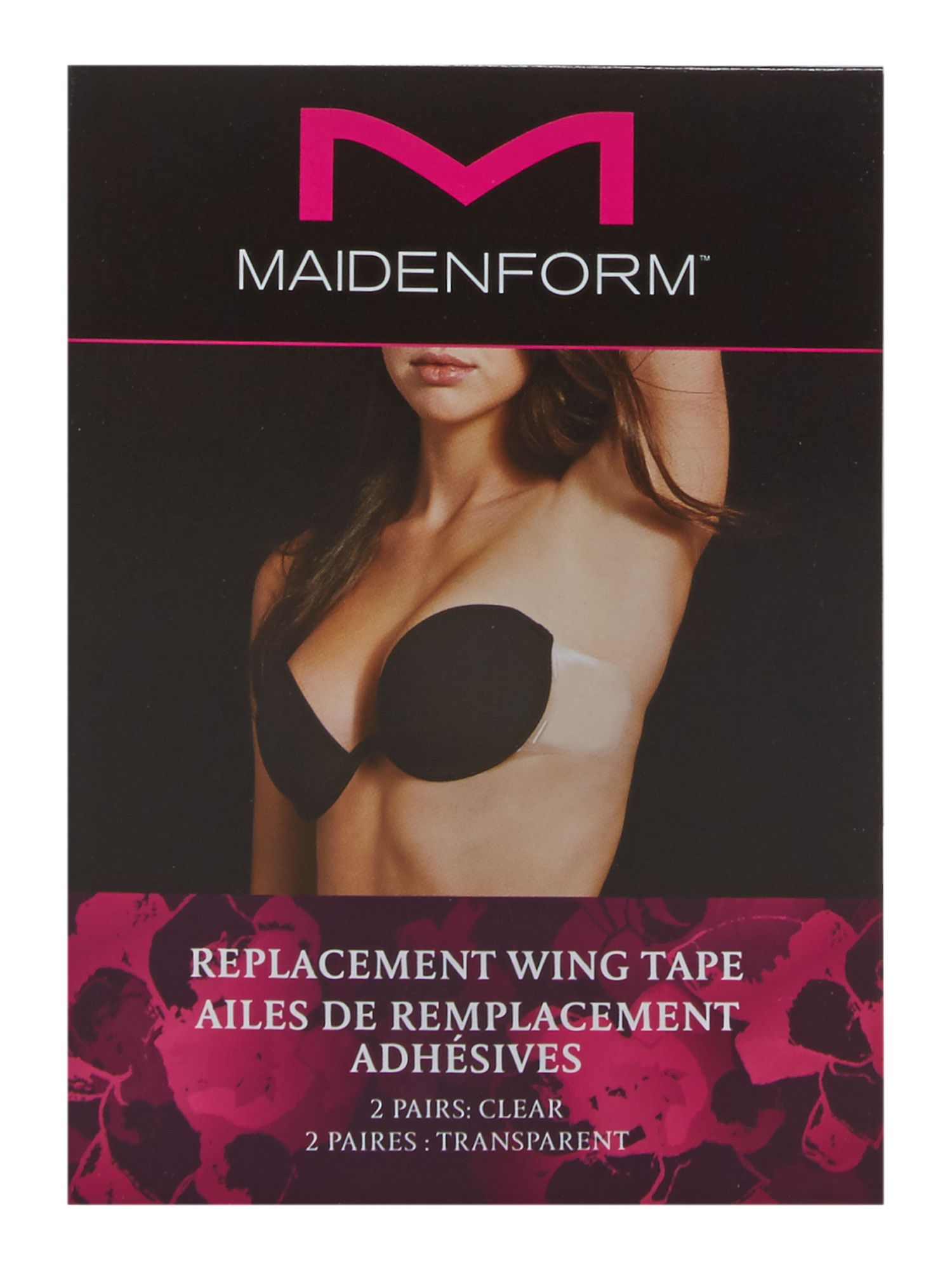 Maidenform Accessories Maidenform Accessories Replacement wing tape, Clear