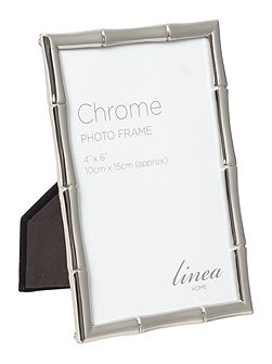 Chrome Plated Frame 4x6