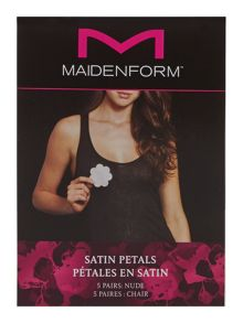 Maidenform Accessories 5 Pack satin petals