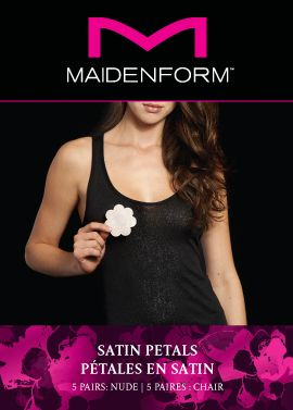 Maidenform Accessories Maidenform Accessories 5 Pack satin petals, Nude