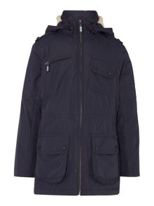 Barbour Girls International Waterproof 4 Pocket Parka