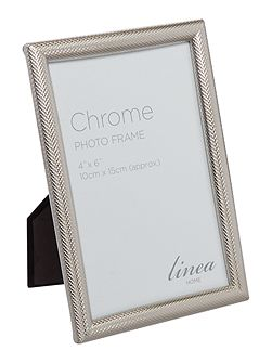 Shiny criss-cross frame 4 x 6``