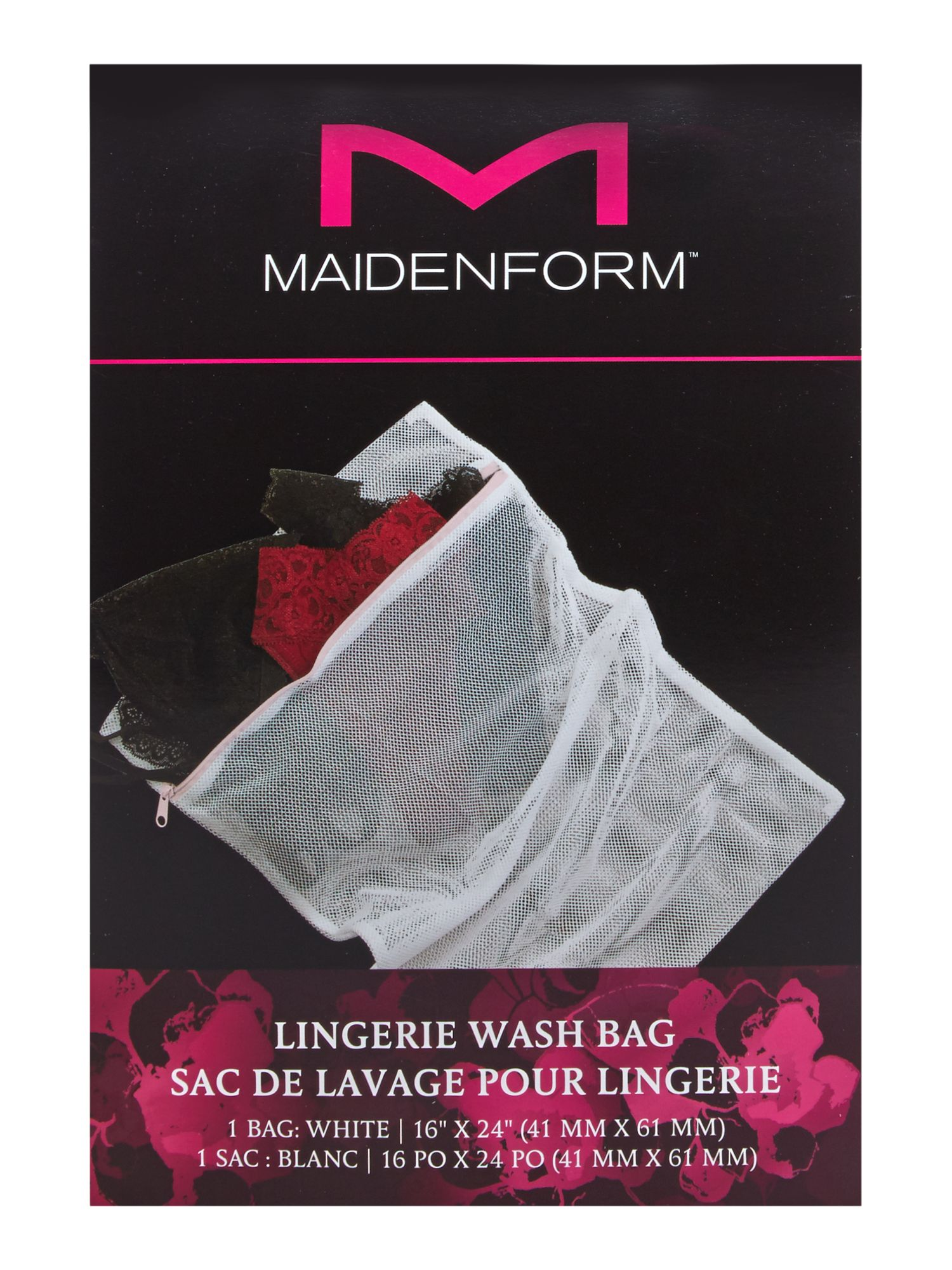 Maidenform Accessories Maidenform Accessories Lingerie wash bag, White