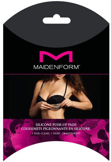 Maidenform Accessories Maidenform Accessories Silicone enhancers, Clear