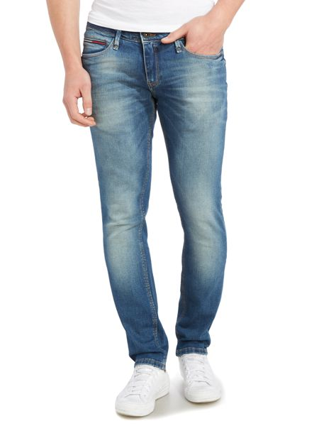 Tommy Hilfiger Sidney Medium Wash Low Rise Jeans