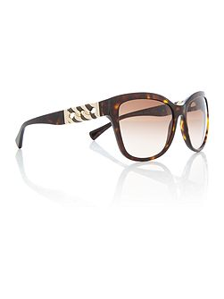 HC8156Q brown female square sunglasses