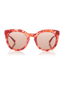 Dolce&Gabbana DG4249 female red round sunglasses
