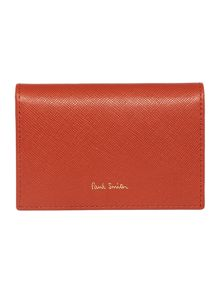 Paul Smith London Orange travel card holder