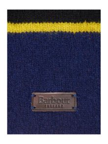 Barbour Boys Lamswool Striped Bobble Hat